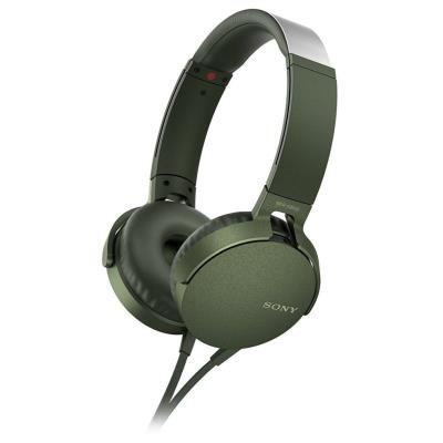 Sony MDR-XB550AP zelený