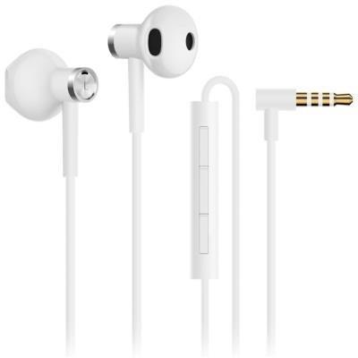Headset Xiaomi Mi Dual Driver Earphones bílý