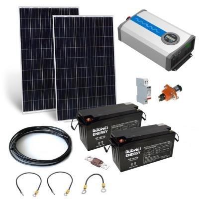 Solarní elektrárna GWL/POWER OffGrid 2000