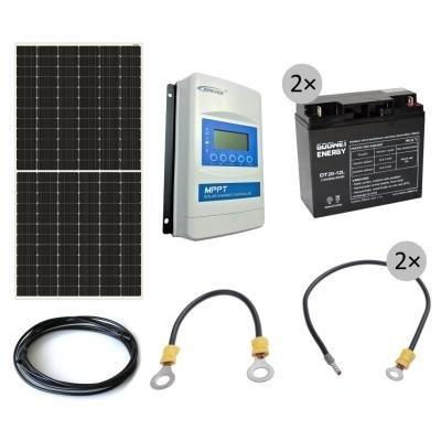 Solární set GWL/POWER OffGrid 600 pro napájení AP