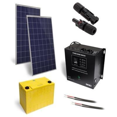Solární elektrárna GWL/POWER OffGrid 500