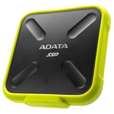 ADATA SD700 1TB SSD / Externí / USB 3.1 Gen 1 / žlutý