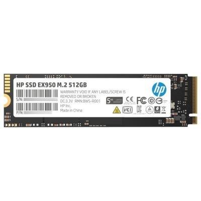 HP SSD EX950 512GB / Interní / M.2 / PCIe Gen 3 x 4 NVMe 1.3 / 3D TLC