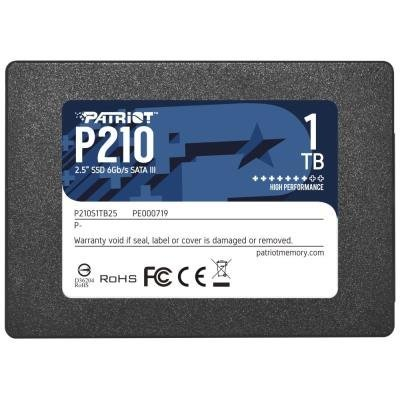 "PATRIOT P210 1TB SSD / 2,5"" / Interní / SATA 6GB/s / 7mm"