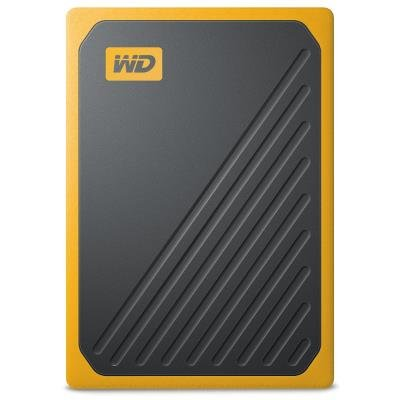 WD My Passport Go 500GB žlutý