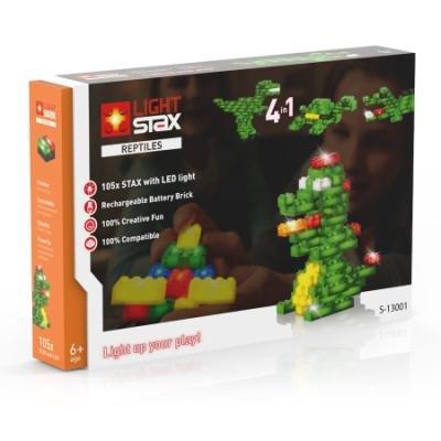 LIGHT STAX svítící stavebnice Reptiles (Animals) - LEGO® - kompatibilní