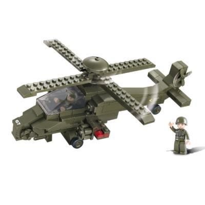 Stavebnice Sluban Útočná helikoptéra