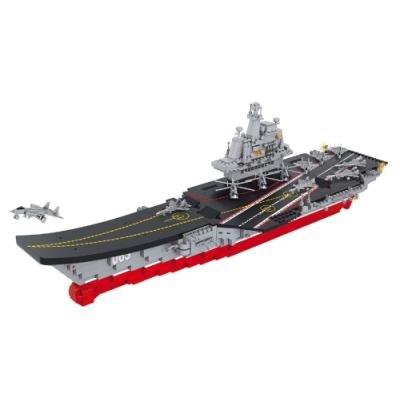 SLUBAN stavebnice Letadlová loď, 1058 dílků (kompatibilní s LEGO)