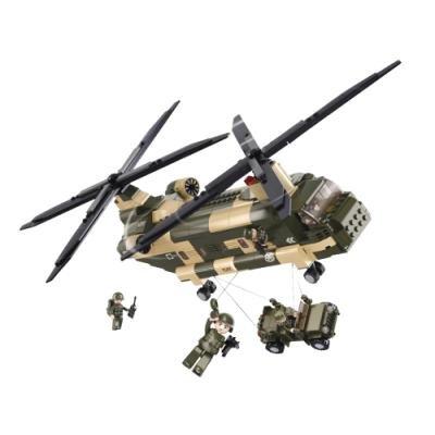 Stavebnice Sluban Transportní helikoptéra