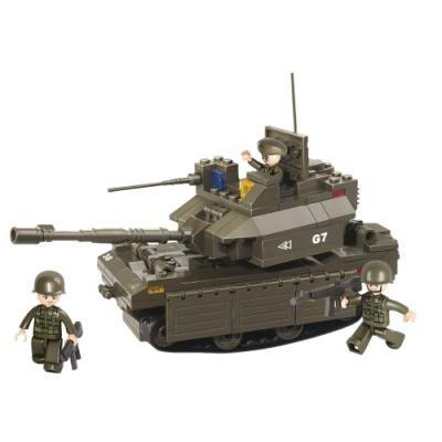 Stavebnice Sluban Tank M1A2-Abrams