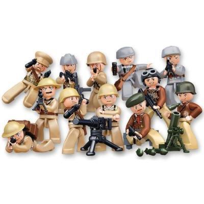 Stavebnice Sluban minifigurky WWII