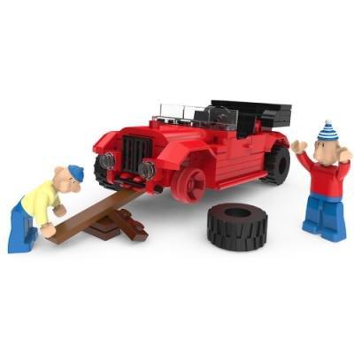 SLUBAN stavebnice Pat & Mat Serie In the Car, 117 dílků (kompatibilní s LEGO)