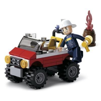 Stavebnice Sluban Požární jeep