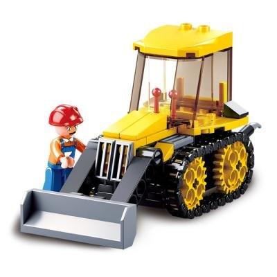 Stavebnice Sluban Malý buldozer