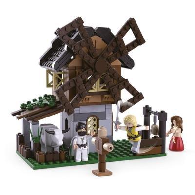 Stavebnice Sluban Větrný mlýn