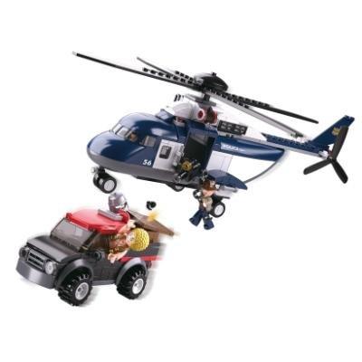 Stavebnice Sluban Velký policejní vrtulník
