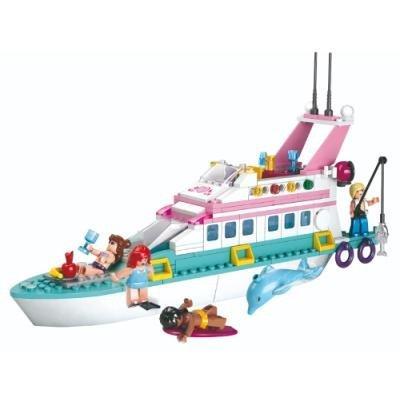 Stavebnice Sluban Rekreační jachta