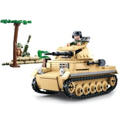 Stavebnice Sluban Německý tank Panzer II