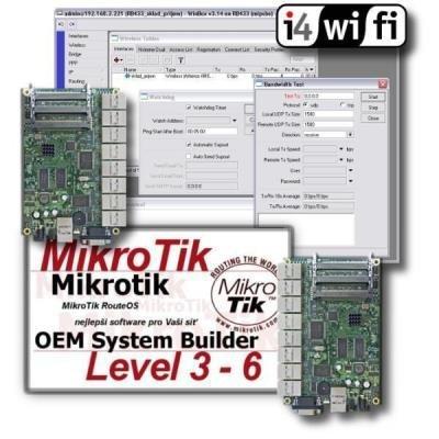Technická podpora systému RouterOS Mikrotik