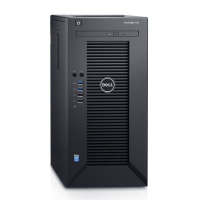 DELL PowerEdge T30/ Xeon Quad Core E3-1225 v5/ 16GB/ 2x 240GB SSD + 2x 2TB 7200 ot. R1+R1/ DVDRW/ 3Y ProSupport on-site