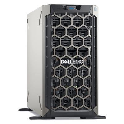 DELL PowerEdge T340/ Xeon E-2234/ 16GB/ 2x 480GB SSD/ H730P/ DVDRW/ iDRAC 9 Enterprise/ 2x 495W/ 3Y Basic on-site