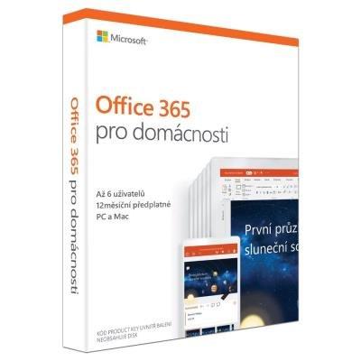 Software MS Office 365 pro domácnosti 1 rok