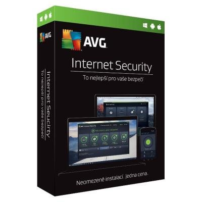 Antivir AVG Internet Security Unlimited 1 rok