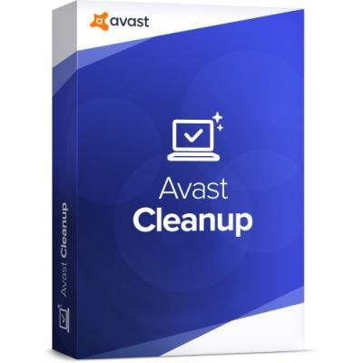 Software Avast CleanUp pro 5 počítačů na 1 rok