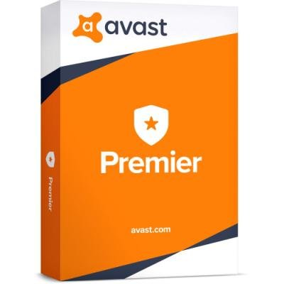 Antivir Avast Premier pro 10 počítačů na 1 rok