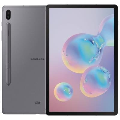 "SAMSUNG Galaxy Tab S6 10.5 LTE - gray   10,5"" Super AMOLED/ 128GB/ 6GB RAM/ LTE/ Android 9"