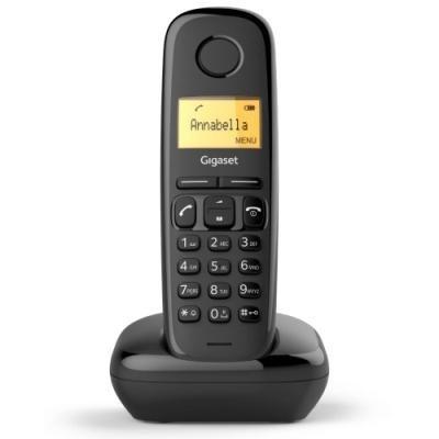Bezdrátový telefon Siemens GIGASET A170 černý