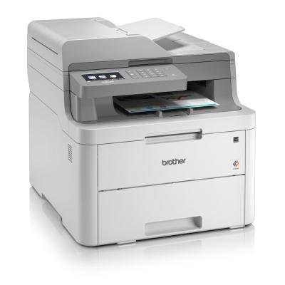 BROTHER DCP-L3550CDW/ A4/ 18 str/ ADF/ LED/ Print/ Copy/ Scan/ Duplex/ Ethernet/ Wi-Fi/ USB