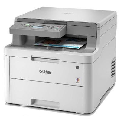 BROTHER DCP-L3510CDW/ A4/ 18 str/ ADF/ LED/ Print/ Copy/ Scan/ Duplex/ Wi-Fi/ USB