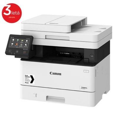 CANON i-SENSYS MF443dw / A4 / čb/ PSC/ 38ppm/ až 600x600dpi / WiFi Direct/ WIFI/ LAN/ USB/ PCL/  Duplex/ DADF