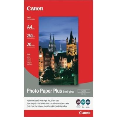 Canon fotopapír SG-201/ A4/ Pololesklý/ 20ks