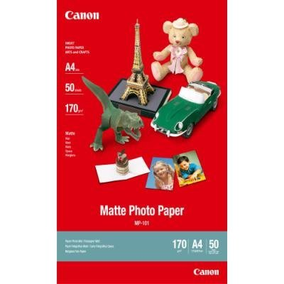 Canon fotopapír MP-101/ A4/ Matný/ 50ks