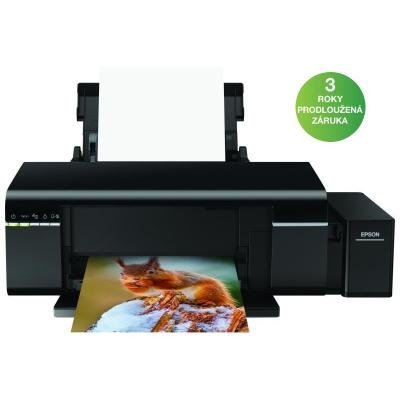 Epson L805/ 5760 x 1440/ A4/ ITS/ 10x15/ Tisk na CD a DVD/ USB/ Wi-Fi/ 3 roky záruka po registraci