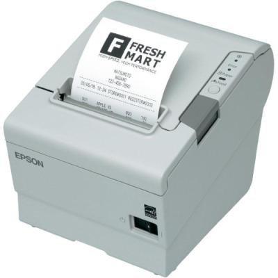 EPSON TM-T88V/ Pokladní tiskárna/USB + Paralelní/ Bílá/ Včetně zdroje/ EU kabel
