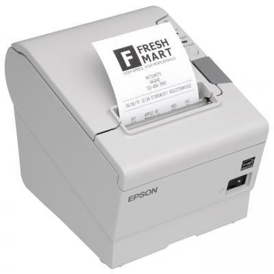 EPSON TM-T88V/ Pokladní tiskárna/USB + WiFi/ Bílá/ Včetně zdroje/ EU kabel