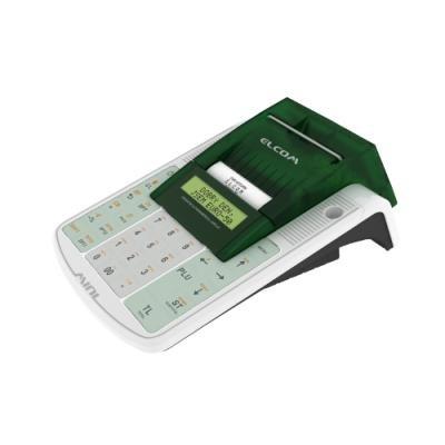 ELCOM registrační pokladna EURO-50TEi Wi-Fi / 57mm tiskárna / LCD displej 2x20 řádků / bílá