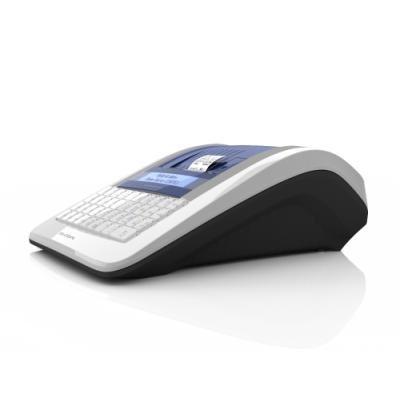 ELCOM registrační pokladna EURO-150TEi LAN / 57mm tiskárna / LCD displej 2x20 řádků / bílá