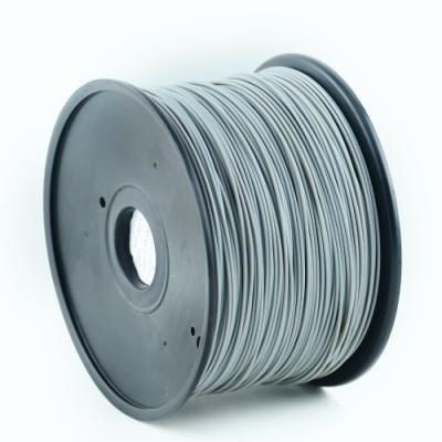 GEMBIRD 3D PLA plastové vlákno pro tiskárny, průměr 1,75 mm, šedé