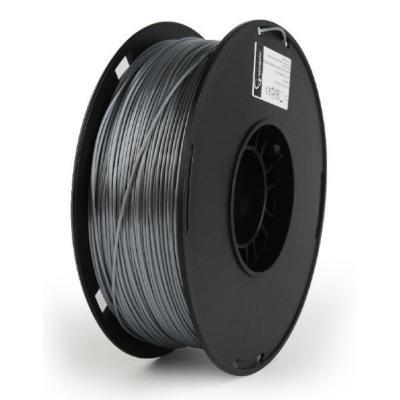 GEMBIRD 3D PLA PLUS plastové vlákno pro tiskárny, průměr 1,75mm, 1kg, stříbrná