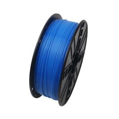 GEMBIRD 3D PLA plastové vlákno pro tiskárny, průměr 1,75mm, 1kg, fluorescentní, modrá