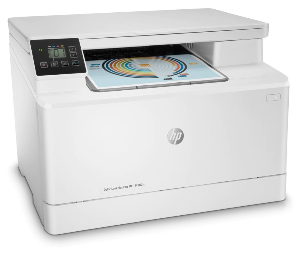 HP Color LaserJet Pro M182n/ PSC/ A4/ 16ppm/ 600x600dpi/ USB/ LAN/ ePrint/ AirPrint