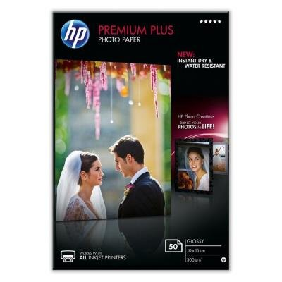 Fotopapír HP Premium Plus 10x15cm 50ks