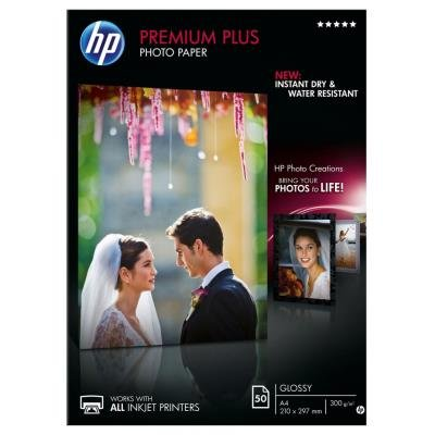 Fotopapír HP Premium Plus A4 50ks