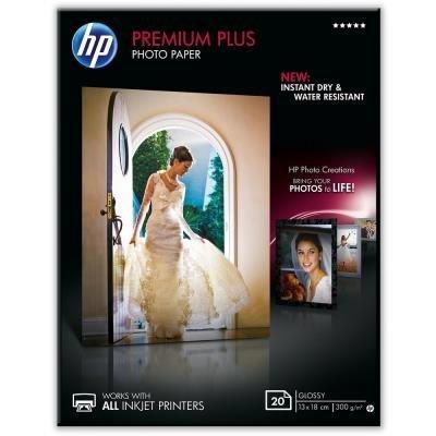 Fotopapír HP Premium Plus 13x18cm 20ks