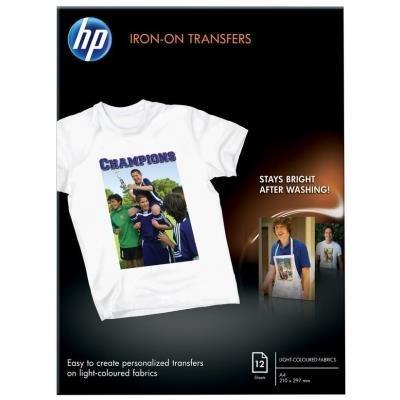 HP Iron-on Transfers A4 12ks