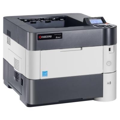 Kyocera ECOSYS P3050dn,A4,čb,50ppm,1200 dpi,512MB,duplex,LAN,start. tonery 8000str.